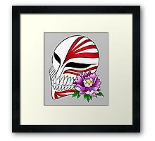Ichigo's mask Framed Print