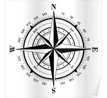True North Compass  Poster