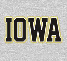 Iowa Jersey Black by USAswagg