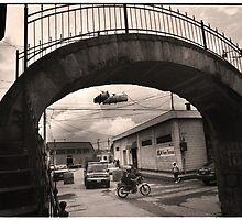 Arching Bridge - Quetzaltenango (Xela), Guatemala by Alex Zuccarelli