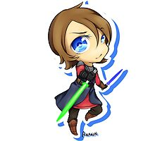 Anakin Skywalker chibi by ZenaKarma