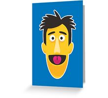 Guy Smiley - Hello everybody and wellcome to the show! Greeting Card