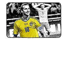 Zlatan Ibrahimovic - Goal Face by JoelCortez