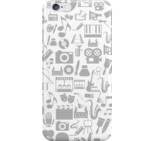 Art a background iPhone Case/Skin