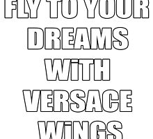 Versace Wings Riff Raff by polinaalive