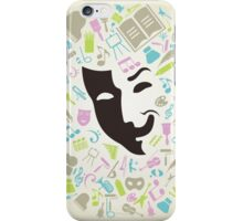 Art mask iPhone Case/Skin