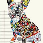 french bulldog modern  by bri-b