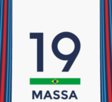 F1 2014 - #19 Massa Sticker
