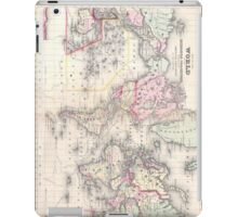 Vintage Map of The World (1864) iPad Case/Skin