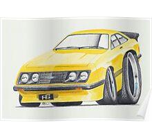 Escort RS2000 Mk2 By Glens Graphix Poster