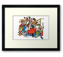 Fat Albert and the Junkyard Gang Framed Print