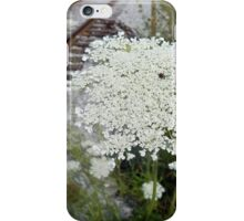 Queen Anne's Lace by the Tracks iPhone Case/Skin