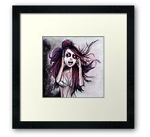 LISTEN TO MUSIC Framed Print