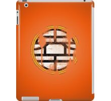 DBZ - Goku's Shirt - King Kai Symbol - Vintage iPad Case/Skin