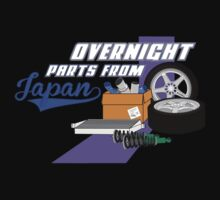 Overnight Parts From Japan by carsnthings