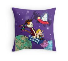 The Doctors at Play Throw Pillow