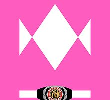 Pink Ranger Iphone Case by LumpyHippo