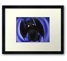 Little Toothless Framed Print