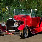 1929 Ford Model A Roadster Pickup by DaveKoontz