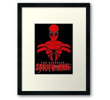Superior Spidey Framed Print