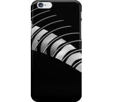 Curvy stripes iPhone Case/Skin