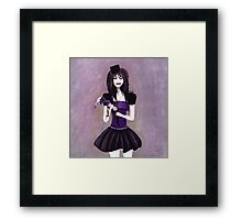 I will smash you to pieces. I told you, I don't want to play this game no more! Framed Print