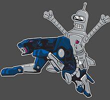 Bender and Ravage by Ninjae-Art