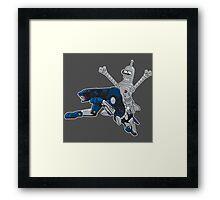 Bender and Ravage Framed Print