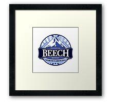 Beech Mountain North Carolina Framed Print