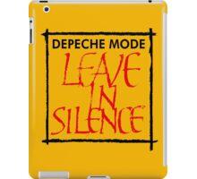 Depeche Mode : Leave In Silence iPad Case/Skin