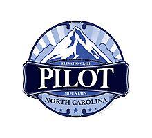 Pilot Mountain North Carolina Photographic Print