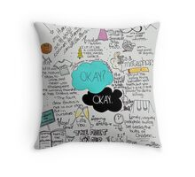 The Fault in Our Stars - ORIGINAL ARTIST Throw Pillow