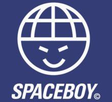 Cheeky Spaceboy Face Logo T-Shirt by Westlake1972