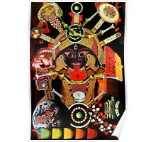 Scarab Beetle Sphinx. Poster