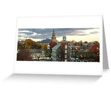 Mill Town Greeting Card