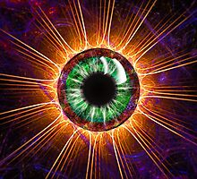 Tesla's Other Eye by christopher r peters
