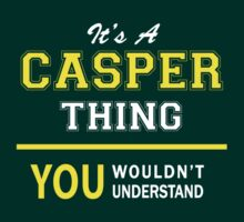 It's A CASPER thing, you wouldn't understand !! by satro