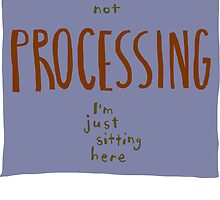 not processing by nanopeople