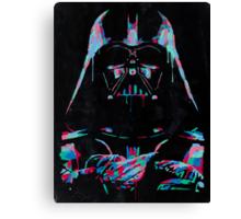 Neon Vader Canvas Print