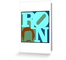 Ron Love (c) (Anchorman) Greeting Card