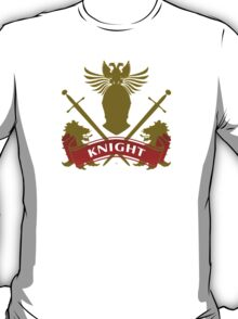Fit For A Knight Coat-of-Arms T-Shirt