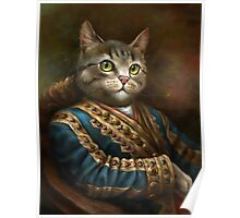 The Hermitage Court Outrunner Cat  Poster