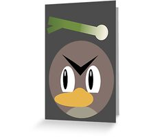 Farfetch'd Ball Greeting Card