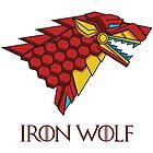 HOUSE STARK - IRON WOLF by seteki
