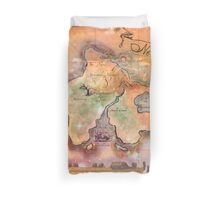 Neverland Map Blanket Full Color King Size Duvet Cover