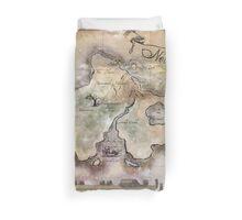 Classic Neverland Map Blanket King Size Duvet Cover