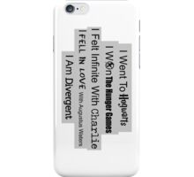 Multi-fandom Book Lover iPhone Case/Skin