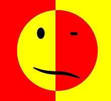 Acid House - Smiley Face, Sad Face (Flipped) by Ged J