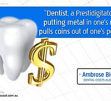A Quotographic brought to you by Dental Costs Melbourne Sydney by Infographics