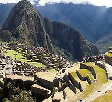Machu Picchu - Peru - August 2014 by Mike Honour